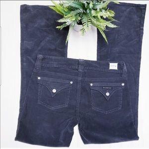 Hudson Jeans Dark Grey Corduroy